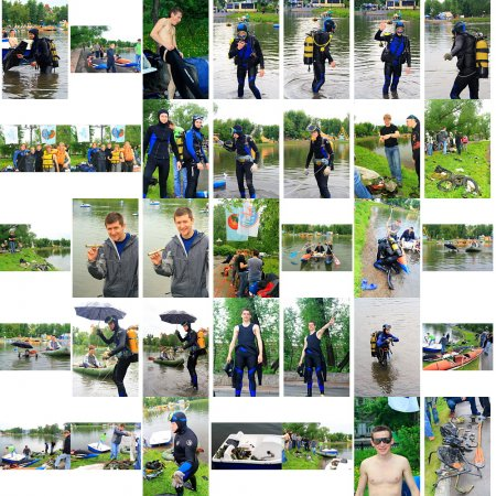 отчистка акватории Белого озера