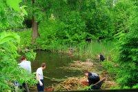 отчистка акватории Игуменского озера
