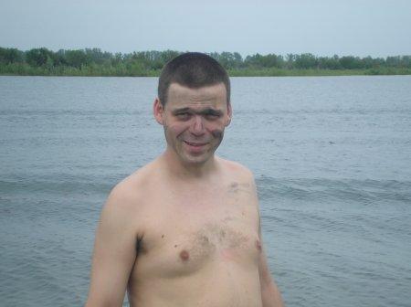 Место погружения - гидронамыв в Мельниково